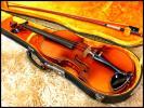 ☆トラ杢☆古いバイオリン☆ラベル剥がれ/メーカー詳細不明☆