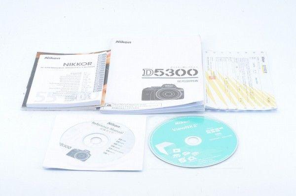 ☆極上品☆ Nikon D5300 + Nikon Lens DX VR AF-S 2個 #74334の画像2
