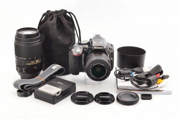 ☆極上品☆ Nikon D5300 + Nikon Lens DX VR AF-S 2個 #74334の画像1