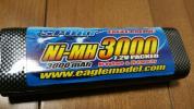 イーグル製 ニッケル水素 バッテリー 3000mAh 7.2V 美品 使用少