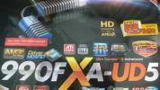 ギガバイトGA-990FXA-UD5 DDR3 990FX SB950 USB3.0 SATA6G