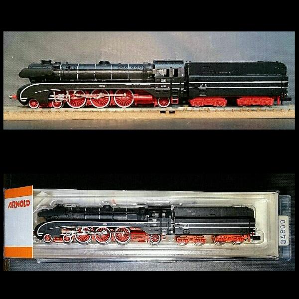 DB/ドイツ国鉄【BR 10★高速蒸気機関車】ARNOLDの画像2
