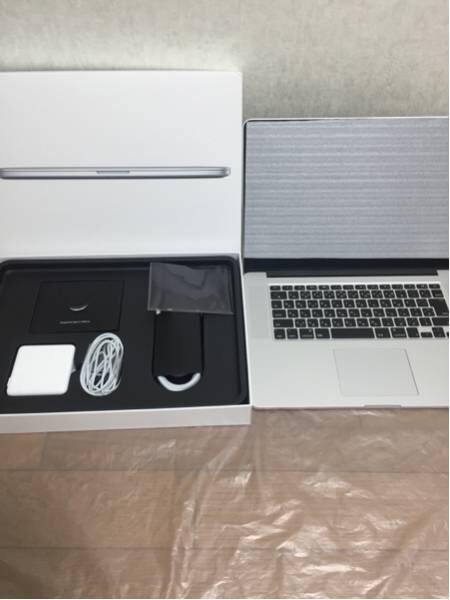 MacBook Pro Retinaディスプレイ 2200/15.4 MJLQ2J/A(新古品)の画像2