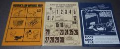 ZIGGY ファンシーファイル3種 Victoria Fancy 学研昭和70年代
