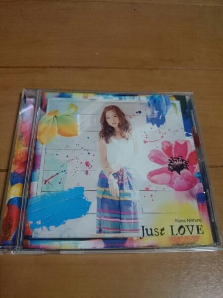 【1スタ!】西野カナ just love 通常盤!の画像1