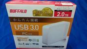 ★新品・未開封★ BUFFALO HD-LC2.0U3-WH USB外付けHDD 2TB