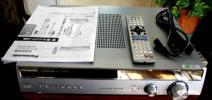 PANASONIC フルデジタルアンプ・SA-XR55・難有・リモコン・取説