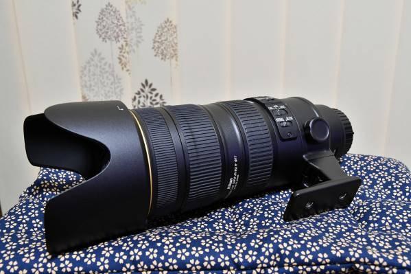 ニコン AF-S Nikkor 70-200mm F2.8 G ED VRⅡ 美品 おまけ付き
