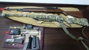 マルイm14vsr-10mp7t-1サプレッサーカモフラテープケース付