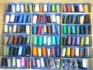 本縫いミシン糸★キングテトロン60番手各色1本105色105本L-9