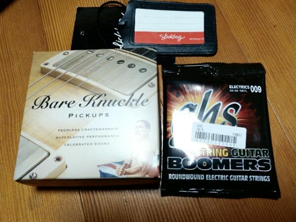 strandberg boden OS7 Bare Knuckle 7弦 売り切りです。の画像3