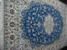 ◆ペルシャ絨毯 ナイン9LA シルク&ウール308x206 No.Z10新品
