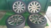 ボルボV70R AWD で使用アルミ+タイヤ