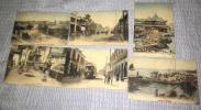 戦前 中国 上海 絵葉書 手彩色 6枚