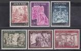 アンドラ(仏)フレスコ画<1967-68年>(未)2セット