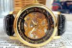 ★新品★送料無料 高級アンティーク調腕時計フルスケルトン手巻