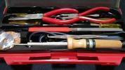 家庭用工具セット はんだこて ラジオ テレビ 修理 ペンチ
