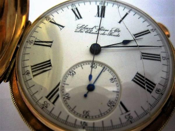 ミニッツリピーター クロノグラフ K18 手巻式 懐中時計の画像3
