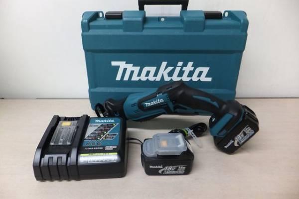 ■マキタ 充電式レシプロソーJR184D 電池2個■の画像1