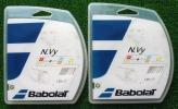 【Babolat】N.vy 125×2張り(硬式用ガット)