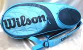 ウイルソン Wilson ロゴプリント入 ラケットバッグ テニスバック