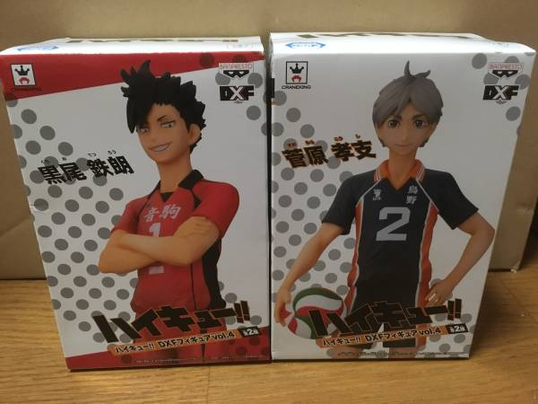 ハイキュー!! DXF vol.4 黒尾鉄朗 未開封