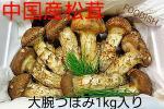 FOODISH/1円スタート中国産 松茸 まつたけ1箱 1kg 大腕 つぼみ