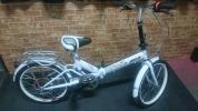 【売り切ります】折りたたみ自転車 20インチ 6段ギア ホワイト
