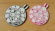 【美品】CUNE キューン コースター 2枚セット シリコン製
