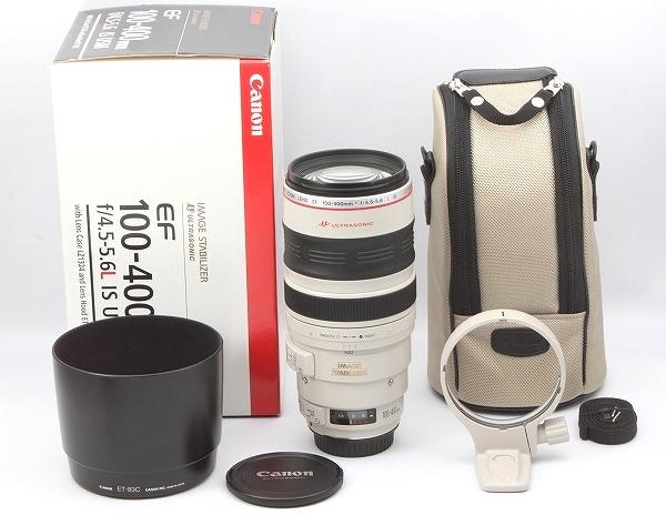 ★極上美品★ キヤノン Canon EF 100-400mm F4.5-5.6 L IS USM