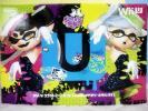 Wii U スプラトゥーンセット amiibo アオリ・ホタル付き 新品