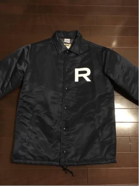 RHC×チャンピオン コーチジャケット ネイビー Sサイズ