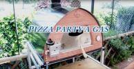 プロパンガス 薪両用ピザ釜 Made in Italy Pizza Party PASSIONE