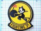 米海軍USNワッペンパッチ:VF-31 tomcatトムキャッターズnavy新品
