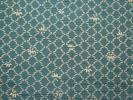 古布 半衿【正絹綸子/松皮菱 緑系】はぎれ吊し細工ハンドメイド