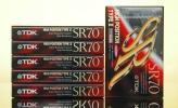 ◆TDK カセットテープ ハイポジ【SR70】6本未開封