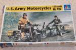 イタレリ1/35U.S.Army Motorcycles ハーレー 2台組