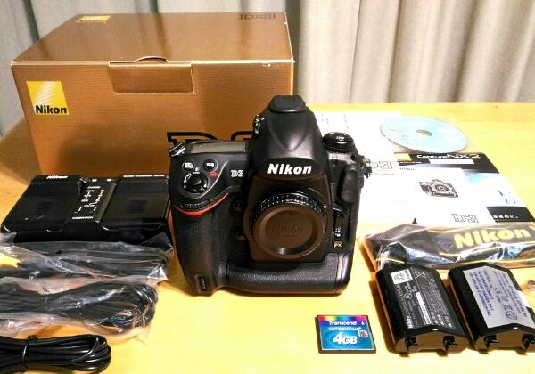 ☆★程度良好 Nikon D3 付属品多数 フルサイズ FX おまけ★☆