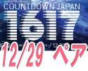 【 12/29 ペア 】 COUNTDOWN JAPAN カウントダウンジャパン 2枚