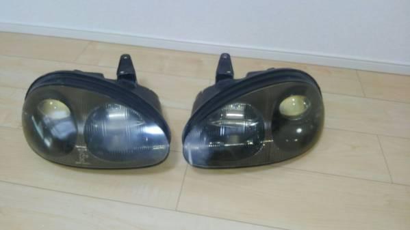 カプチーノ ヘッドライト左右セット ジャンク品