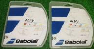【Babolat】N.vy 130×2張り(硬式用ガット)