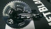 【中古】Power2max Rotor 24mm PCD130 170mm 7800 53-39T