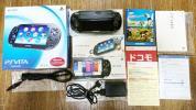 【中古】PS Vita 黒 PCH-1100 3G/Wifi 有機ELディスプレイ