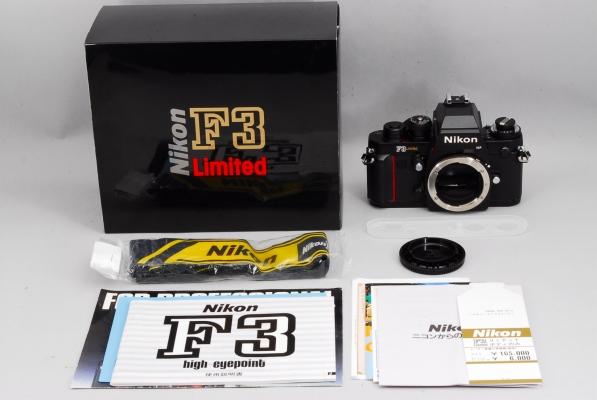 【未使用】Nikon F3 Limited HP 35mm ニコン F3 #B01001