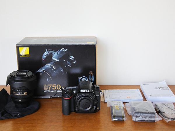 7月購入・超美品■Nikon D750 24-120 VR レンズキット■ ニコン