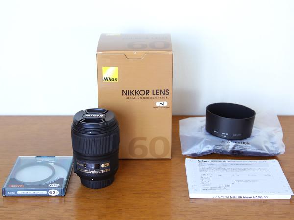 定番・8月購入■AF-S Micro NIKKOR 60mm f/2.8G ED■マクロNikon