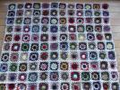 手編みストール・ブランケット・膝かけ・120c×100c白