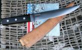 ミートナイフ〃東源正明〃、研ぎ直しました