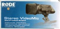 プロ RODE ステレオX/Y コンデンサーマイク ビデオカメラ用 新同