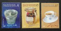 スロベニア切手 スロベニアの製品 3種 未使用